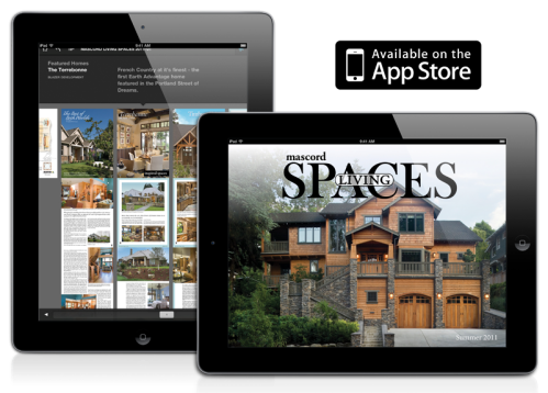 Mascord Living Spaces on iPad